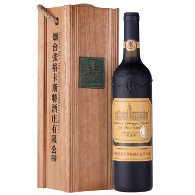 张裕 卡斯特酒庄特选级蛇龙珠干红葡萄酒 750ml